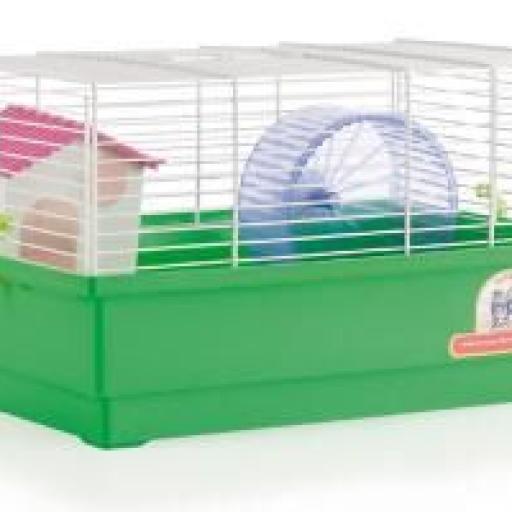Jaula Hamster Cria - 1 Piso Blanca 1031