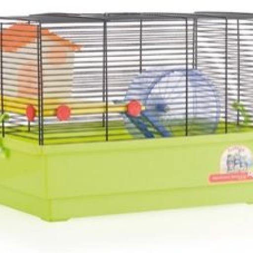 Jaula Hamster Cria - 2 Pisos Blanca 1033