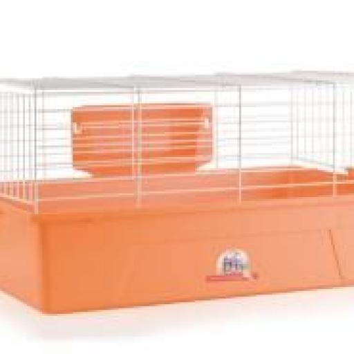 Jaula para Conejo Enano - Pintada 1041