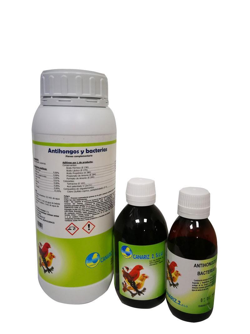 Antihongos y bacterias 1lt