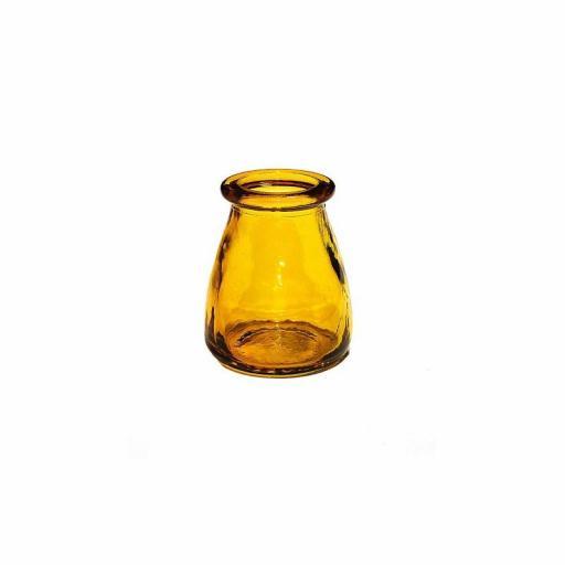 Bebedero cristal olleta color anbar