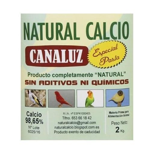 Calcio natural canaluz g-00 2 kg