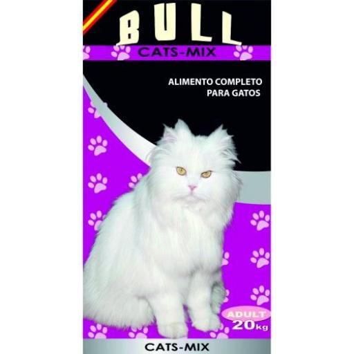 BULL Cats-mix 20 kg