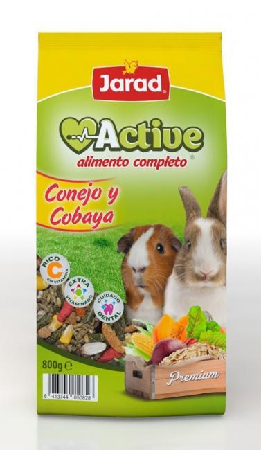 CONEJO Y COBAYAS ACTIVE 4 KG