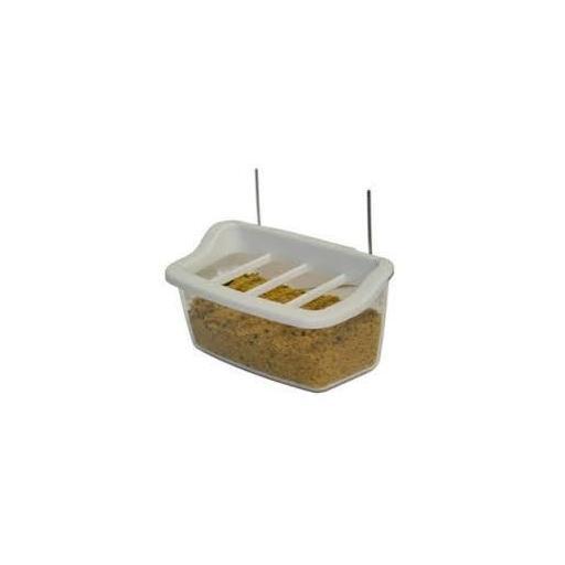 Comedero bizcochera rastrillo con ganchos de alambre [0]