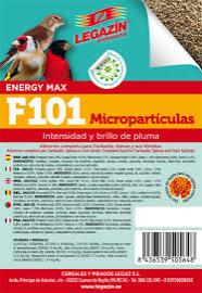 PIENSO LEGAZÍN F101 MICROPARTÍCULAS 4kg