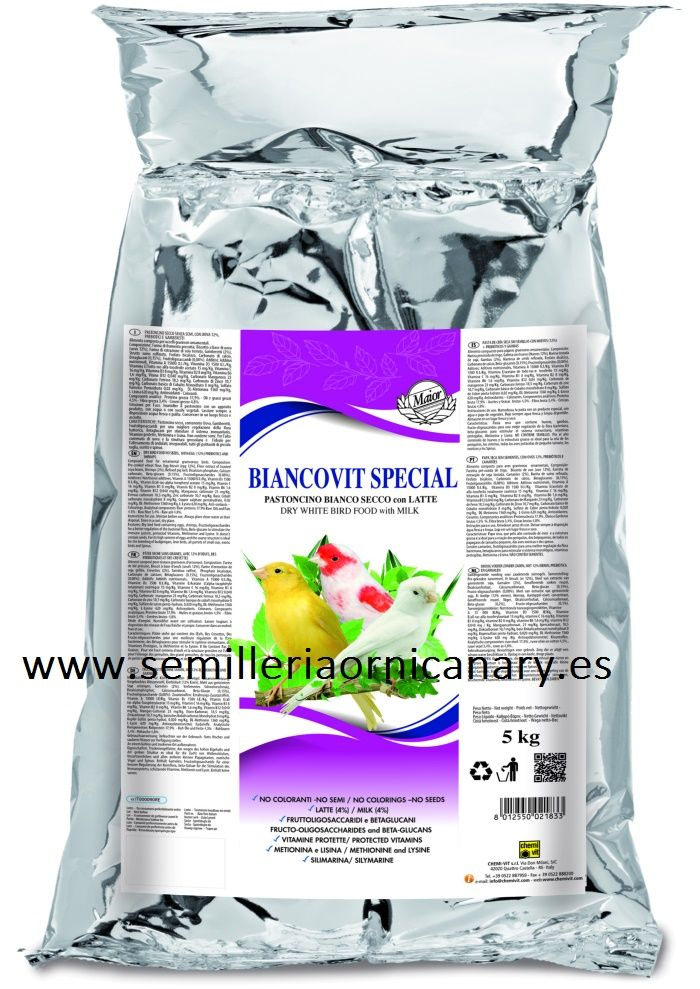 Biancovit especial chemi-vit seca 5 KG