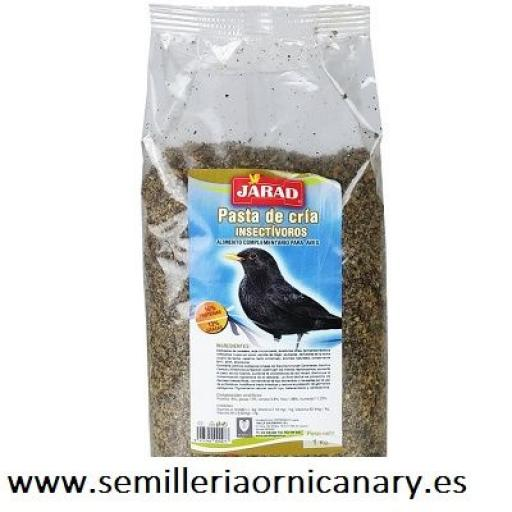 jarad pasta de cria para insectivoros [0]