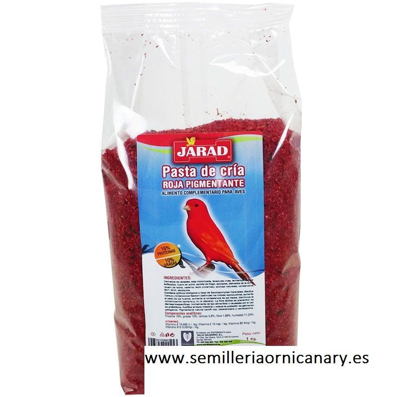 Jarad pasta de cría roja