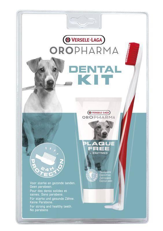 La placa Dental, Kit de 100gr (Pasta de dientes y cepillo de dientes contra la placa)