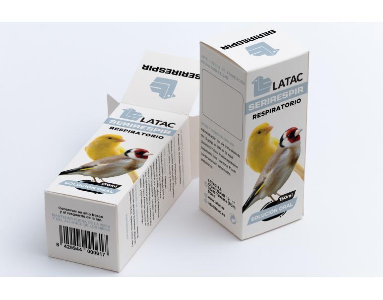 Latac Serirespir Suplemento para Pájaros 20ml