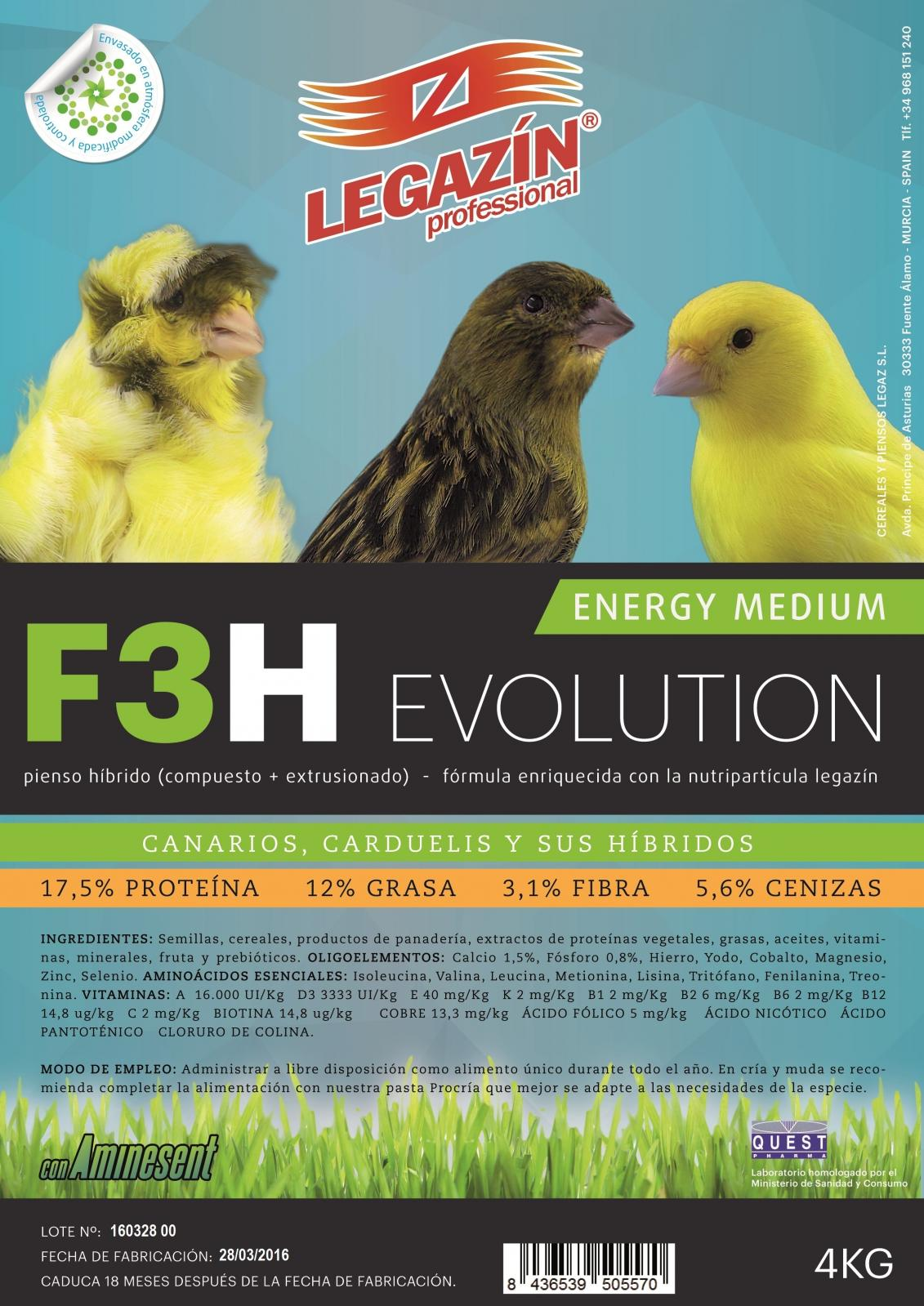 F3h energy medium evolution 4kg