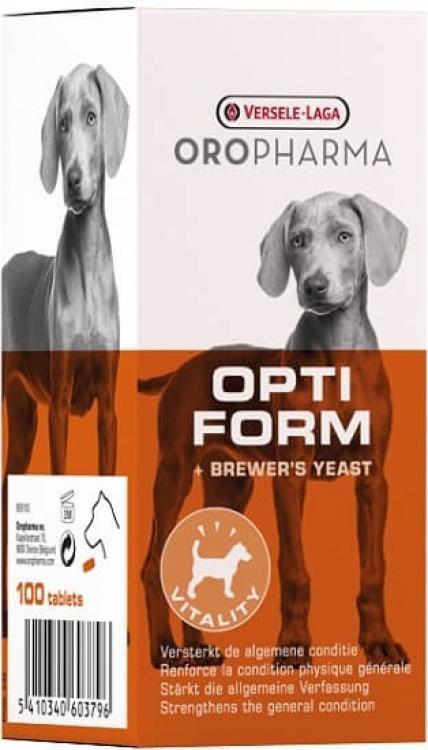 Oropharma Opti Form - levadura de cerveza para una buena salud.