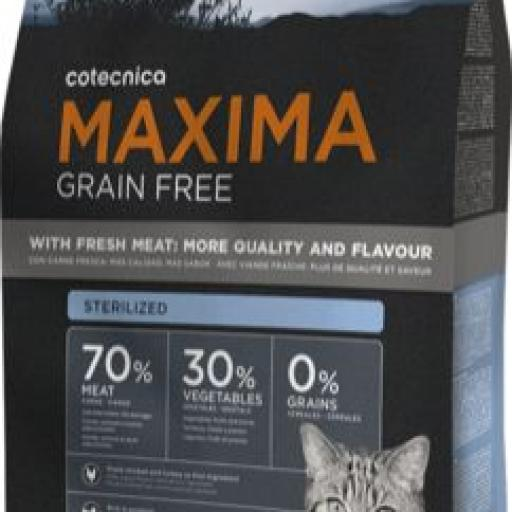 MAXIMA GRAIN FREE STERILIZED