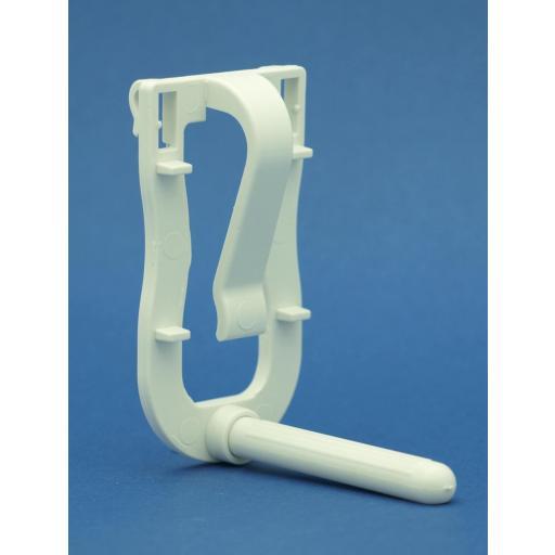 Porta sepia con gancho de plastico 2GR art. 33
