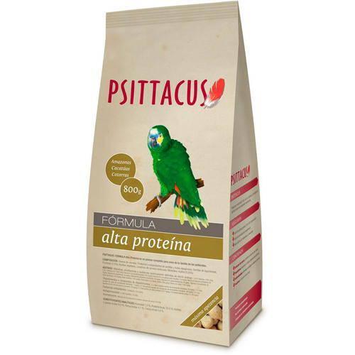 Psittacus Pienso Mantenimiento Alta Proteína para aves
