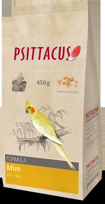 PSITTACUS PIENSO MINI 450 g