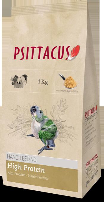 PSITTACUS PAPILLA ALTA PROTEINA 1 kg