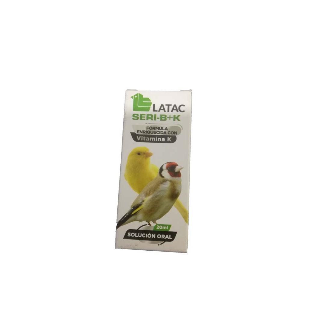 Latac SERI-B+K Suplemento para Pájaros 60ml