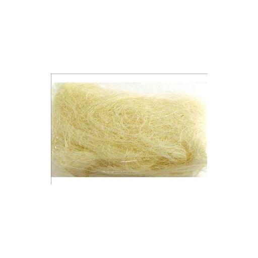 Pelo para nido sisal blanco 500gr