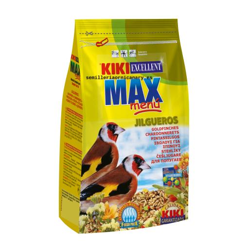 Kiki max menu jilgueros 500 gr