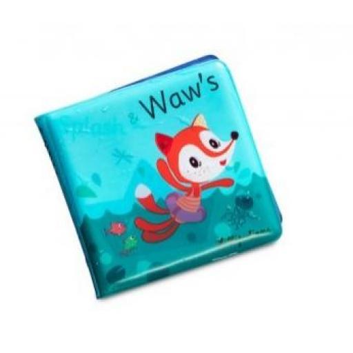 Alice Splash Libro mágico para el baño - Lilliputiens