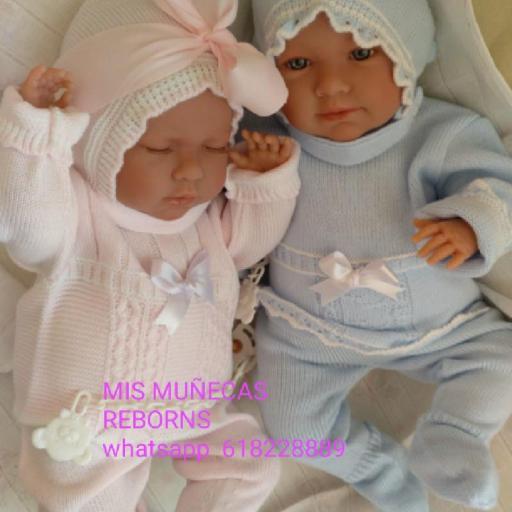 Trajecitos de bebés reborn