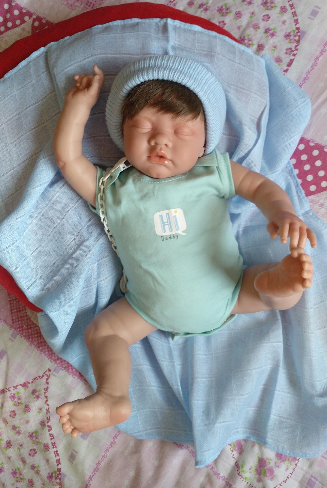 """ROMAN:nuevo modelo reborn """"Real Baby"""":"""