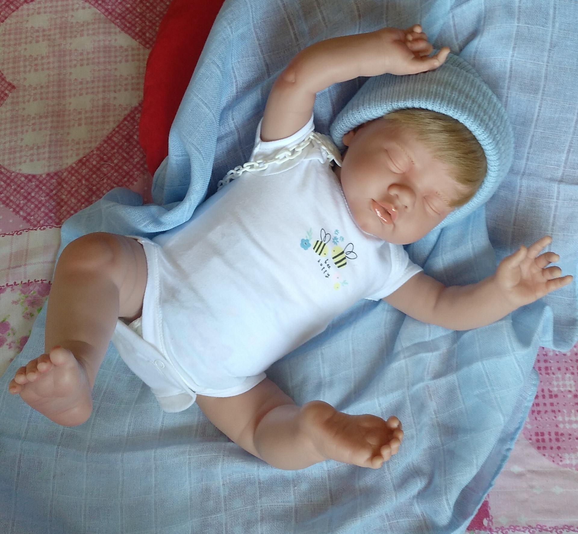 """ADRIÁN: nuevo reborn """"Real Baby"""":"""