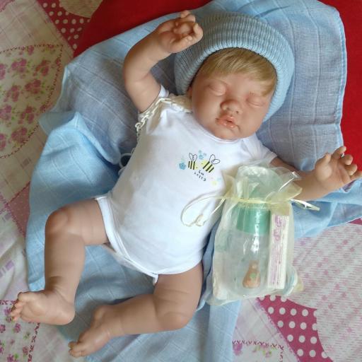 """ADRIÁN: nuevo reborn """"Real Baby"""": [1]"""
