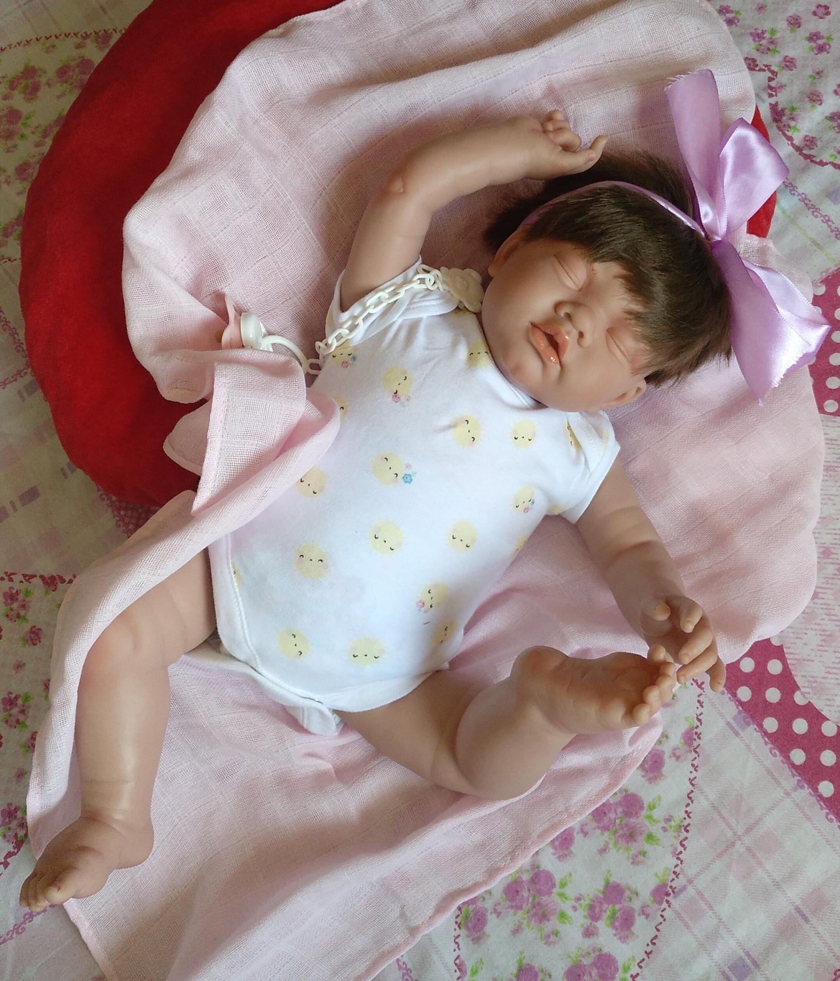 """CELINE:nuevo reborn """"Real Baby"""":"""