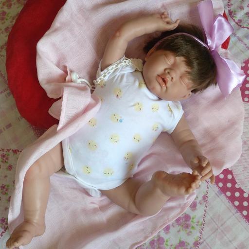 """ADRIÁN y CELINE: mellizos reborns dormiditos """"Real Baby"""" [2]"""