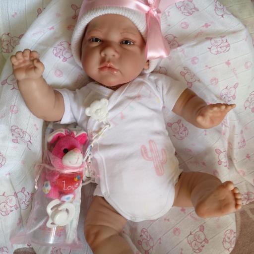 """Bebés reborns mellizos CIELO y ALMA """"Real Reborns Prematuros"""" [1]"""