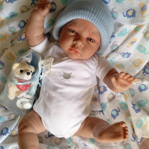 """Bebés reborns mellizos CIELO y ALMA """"Real Reborns Prematuros"""" [2]"""