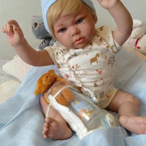 """NICOLÁS y MIRABELLA... mellizos reborns """"Real Baby"""": [2]"""