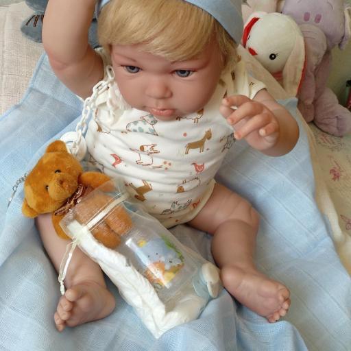 NICOLÁS:bebé reborn más real.