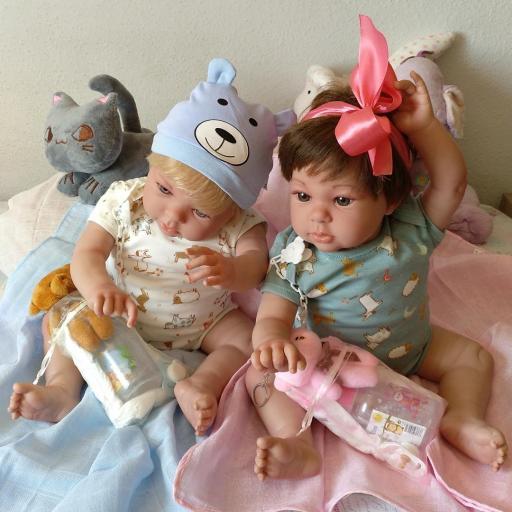 """NICOLÁS y MIRABELLA... mellizos reborns """"Real Baby"""": [1]"""