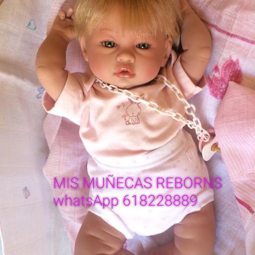 Bebé reborn articulada silicona [2]
