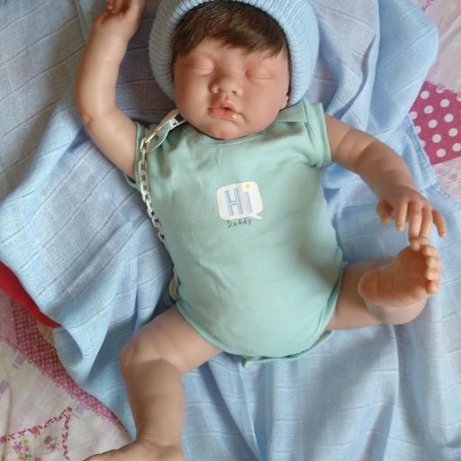 """ROMÁN y NEREA... mellizos reborns """"Real Baby"""": [2]"""
