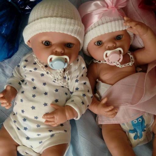 muñecos bebes prematuros mellizos [3]