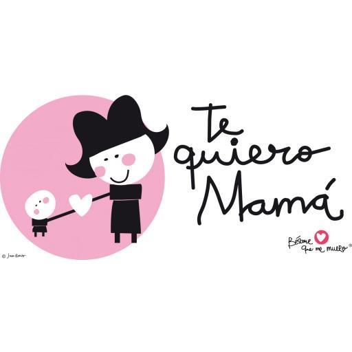 """Taza """"Te quiero mamá"""" [1]"""