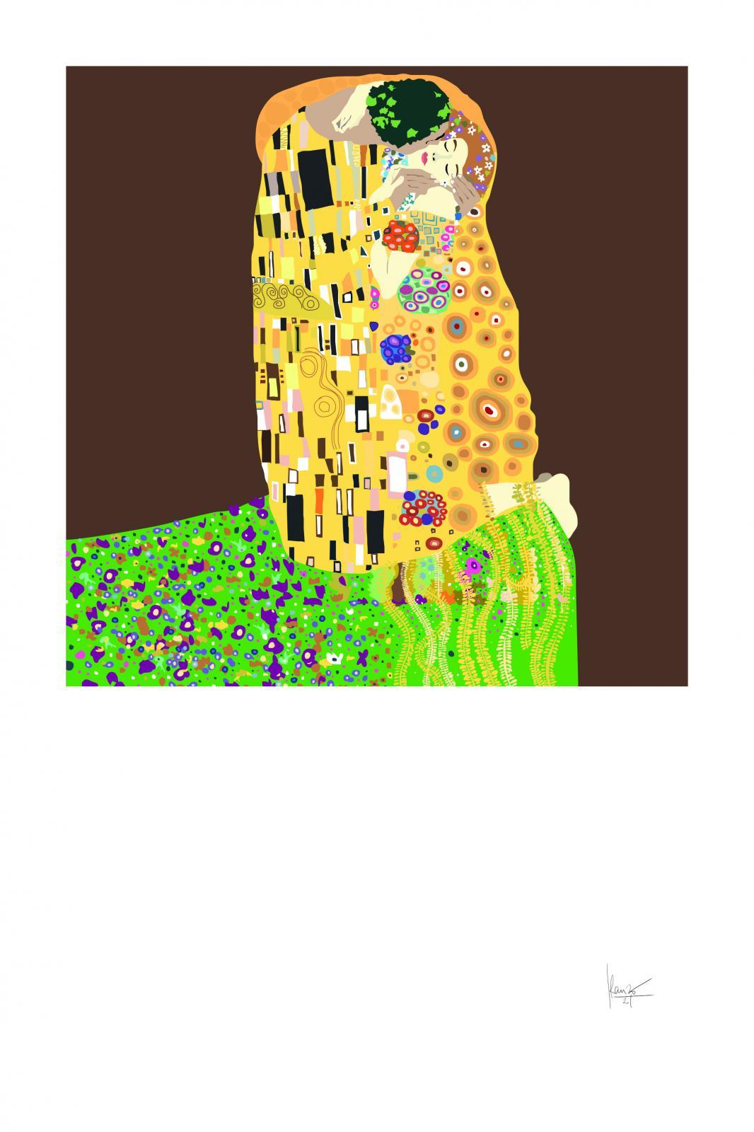 """BESOS INTERPRETADOS """"EL BESO, de Gustav Klimt"""""""