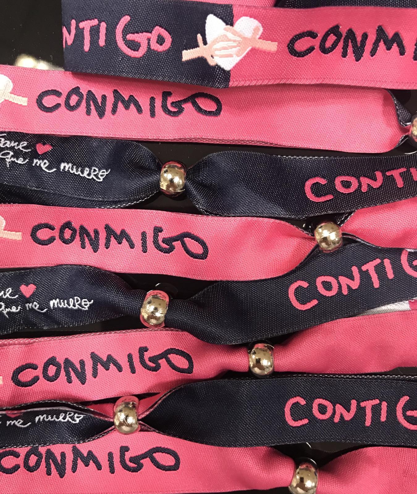 PULSERA CONTIGO-CONMIGO
