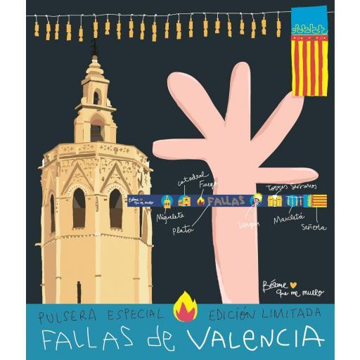 PULSERA FALLAS VALENCIA ICONOS