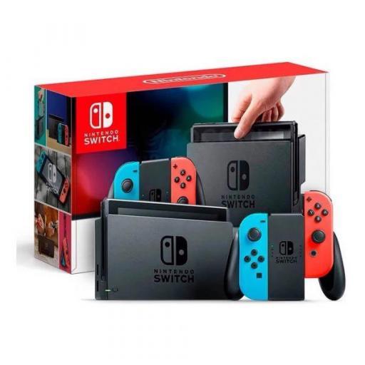 Nintendo Switch Azul Neón/Rojo V2