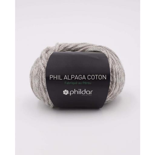 PHIL ALPAGA COTON COLOR FLANELLE