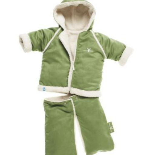 Wallaboo Baby Overall Mono Saco Funcional Verde