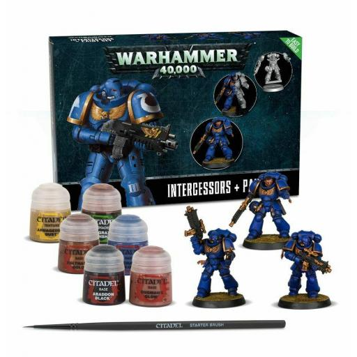 Intercessors + Paint Set Warhammer 40K