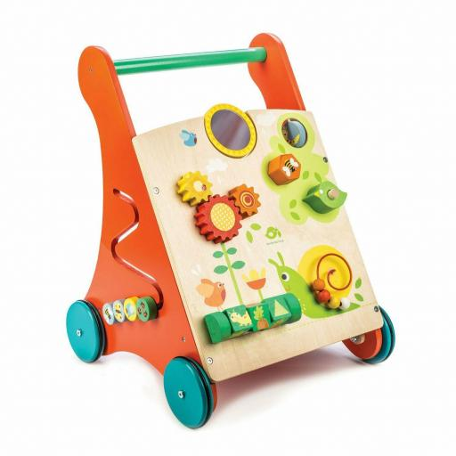 Correpasillo Activity Walker Leaf Toys Madera