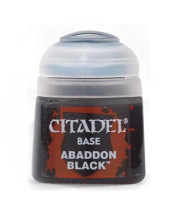 CITADEL BASE ABADDON BLACK 12 ML